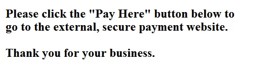 Click below to go to external secure payment site